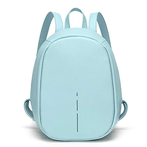 BAOZ Backpack Purse for Women,Fashion Leisure Versatile Simple and Multifunctional Backpack Anti-Theft Night Reflective Strip Backpack 02