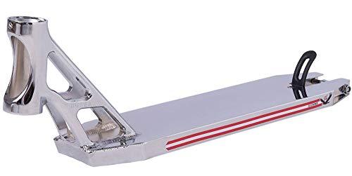 Striker Bgseakk Magnetite Stunt Scooter Deck - Plataforma para patinete (cromo, 47 cm)