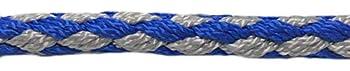 elropet Elropet Laisse double réglable sur 4 positions Bleu/gris 2,8 m