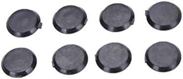 20X Black Hex Socket Allen Bolt Screw Nut Hexagon Head Cover Cap Protector M JS