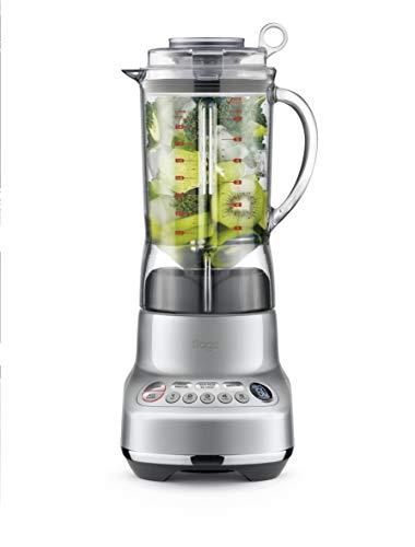 Sage Appliances SJE410 the Nutri Juicer, Entsafter, Gebürstetes Edelstahl