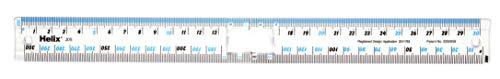 Helix J05100 30cm 300mm Folding Ruler