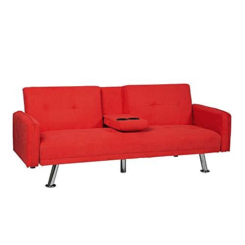 LTTROMAT Modern Futon Sofa Bed Convertible Couch Recliner...