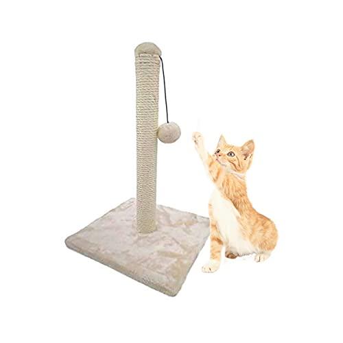 NV Tiragraffi Albero di Gioco Tiragraffi per Gatti di Prima Qualità Giocattolo per Gatto in Peluche con Palla per Intrattenimento