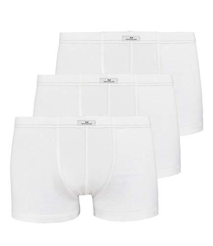 GÖTZBURG® Sparpacks! 3er Pack Pants, Boxershorts, Shorts, Unterhosen, Unterwäsche, schwarz, weiß, Neu (7 / (XL), weiß)