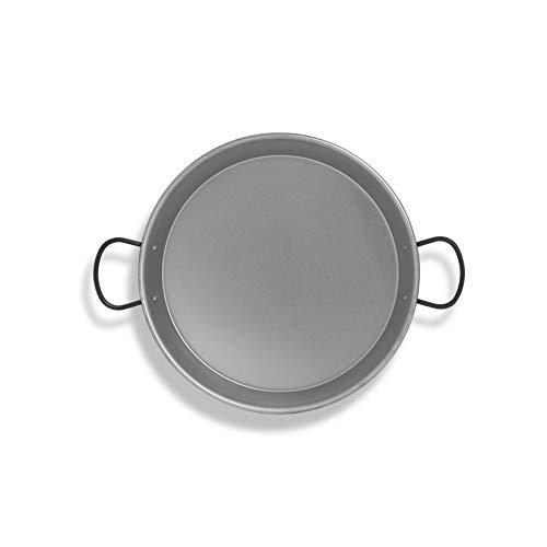 Metaltex - Paellera pulida inducción 36 cm