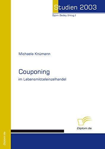 Couponing im Lebensmitteleinzelhandel (German Edition)