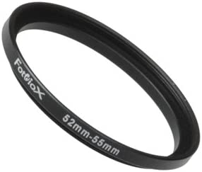 Fotodiox Metal Step Up Regular discount Ring Black Large-scale sale 52- Anodized 52mm-55mm