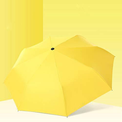 no logo YYouRuiFull-Pioggia Automatica e Pioggia a Doppio Uso ombrellone per Donna ombrellone ombrellone Pieghevole Anti-UV Mini ombrellone in Vinile