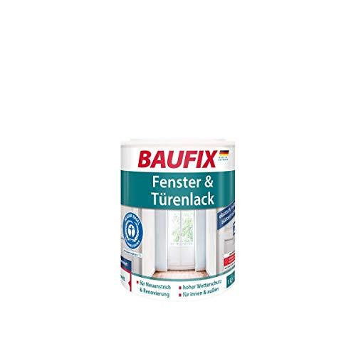 BAUFIX Fenster- und Türenlack Weiß Seidenmatt