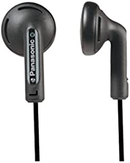 Panasonic RP-HV094GU-K Traditional In-Ear Headphones, Black