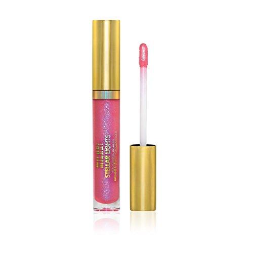 Milani Stellar Lights Holographic Lip Gloss - 04 Prismatic Pink (0.12 Fl oz   3.6 ml)