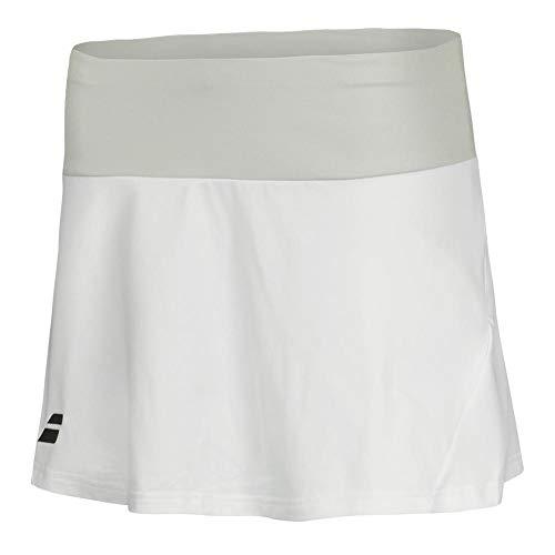 Babolat Core Skirt Girl Falda, Niñas, White/White, 12/14 AÑOS