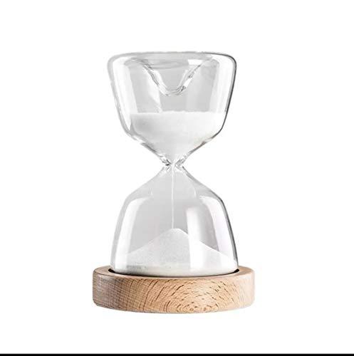 Temporizador de reloj de arena creativo Juguete divertido de escritorio 15 minutos Reloj de arena Hogar Cocina y baño Gadgets Decoraciones de escritorio Gadgets de sincronización-predeterminado