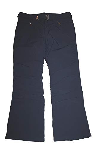 Bogner Luna Damen Ski Hose Blau Gold mit Gürtel