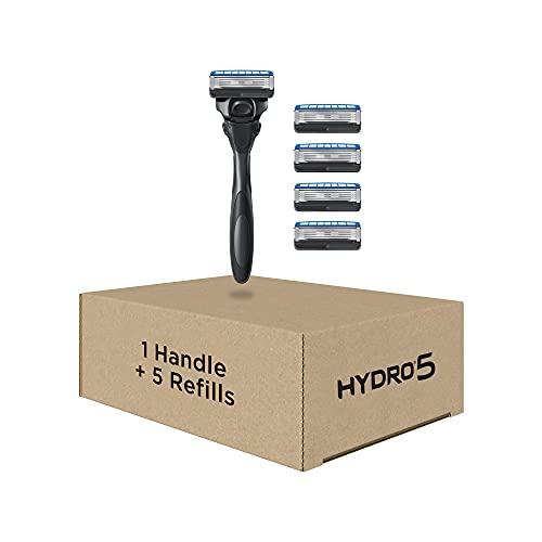 Schick Hydro Skin Comfort Dry Skin 5 Blade Razor for Men, 1...