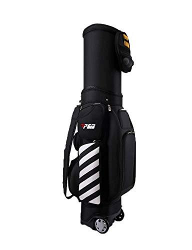 Mochila de golf bolsa de viaje de golf de viaje bolsa de golf con ruedas for hombres y mujeres multicolor fácil llevar Campo de Golf Travel caso de la bolsa regalo Bolsa de cubierta impermeable Adecua
