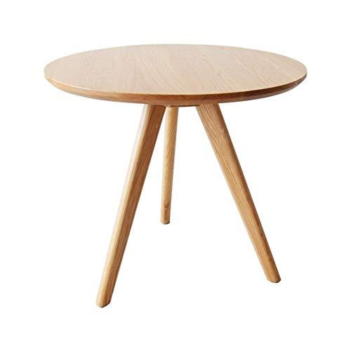 Salontafel van hout, draagbaar multifunctioneel rond meubel voor binnen en buiten, picknick party, klaptafel