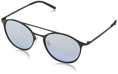 Sting Unisex Ss4902 Sonnenbrille, Blau (Rubberized Black), Einheitsgröße