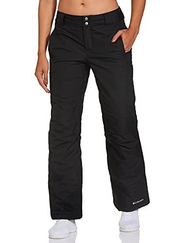 Columbia Pantalón de esquí para Mujer, Bugaboo Oh, Negro, XL