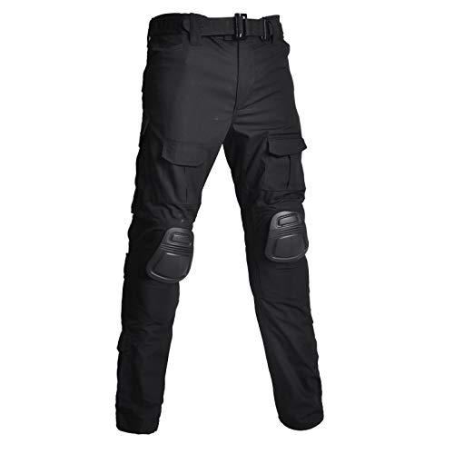 Pantalones Militares De Combate Táctico para Hombres Resistente Al Agua Y Al Desgaste Pantalones Casuales De Carga De Trabajo Al Aire Libre