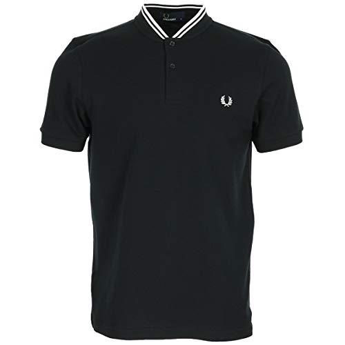 Fred Perry Bomber Collar Polo Shirt, Polo - M