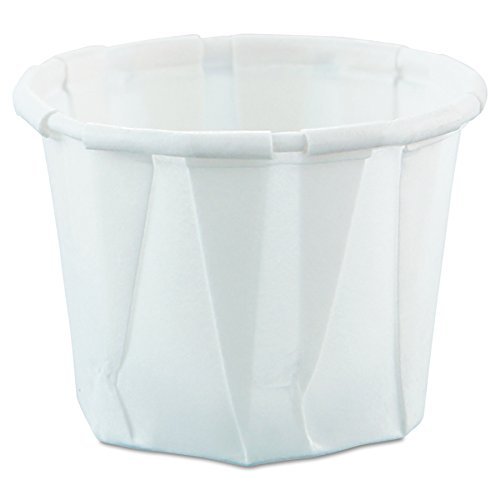 Solo 075-2050 0.75 oz Treated Paper Portion Cup (Case of 5000)