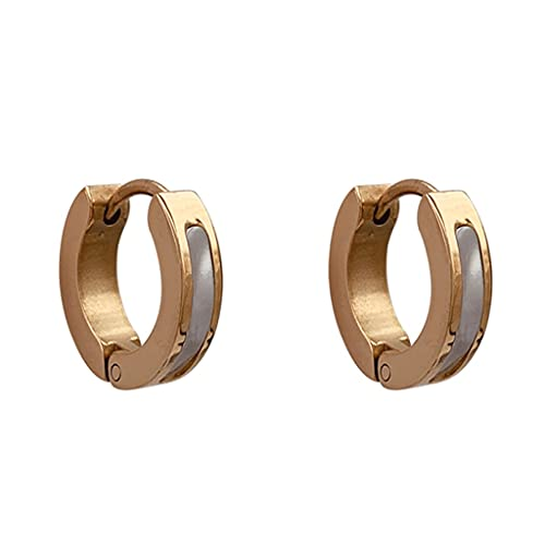 LLRZ Botón 925 Silver Stud Pendientes para Niñas Sencillez Pendiente Set para Niñas Mujeres Ear Stud Regalo para Cumpleaños Decorar (Color : A)
