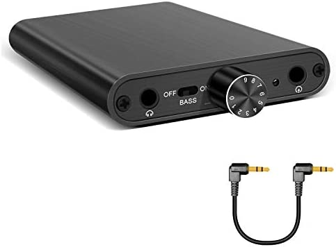 Hi Fi Headphone Amplifier Portable Headphone Amp 3 5mm Stereo Audio Input Out Buit in Power product image
