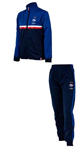 Equipe de FRANCE de football Survêtement FFF - Collection Officielle Taille Homme L