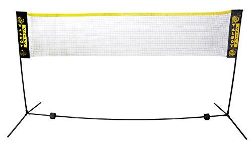 Talbot Torro Junior Badminton-Set Bisi 449590, mit Netz und Pfosten