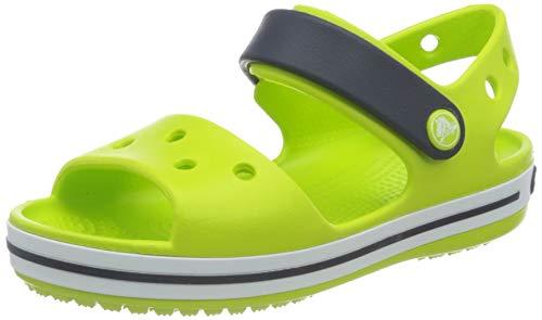 Crocs Crocband Sandal Kids, Unisex-Child, vert (Lime Punch), 24-25 EU (UK 8)