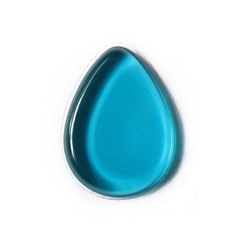 GDYX Bouffée de poudre 1 pc Transparent Silicone Gel Puff Jelly Pudding Maquillage Éponge Beauté Puff Bleu