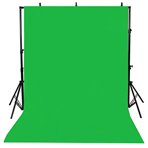Haihuic 90 cm x 150 cm / 3 pies x 5 pies Verde Tela de telón de Fondo Foto Video Estudio de fotografía Pantalla de Fondo