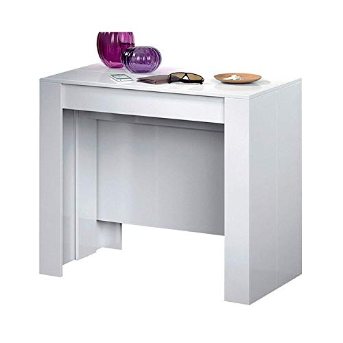 Tavolo Consolle Bianco Lucido.Categoria 2808734031 The Best Amazon Price In Savemoney Es