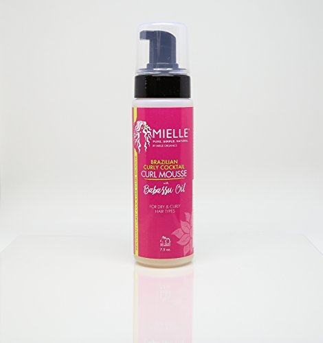 Mielle Brazilian Curly Cocktail Curl Mousse with Babassu Oil 7.5oz