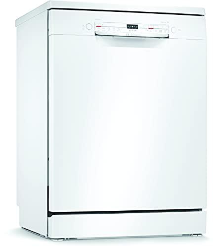 Bosch Electrodomésticos SMS2ITW11E Serie 2 Lavavajillas de libre posicionamiento, 60 cm, blanco