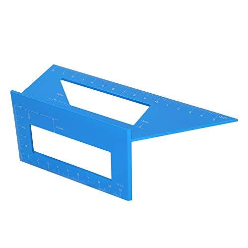 Calibrador de ángulo de soldadura, resistente al desgaste, duradero, conveniente, resistente, regla de calibre de ángulo para carpintería, uso profesional, uso general, para carpintería,