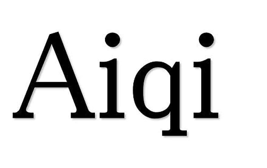 ジムラバに賛成Aiqi ハンディマッサージャー コードレス 1種振動パタン ダブル振動 小型 強力 振動 静音 防水 USB充電式 健康対策(ブラック)