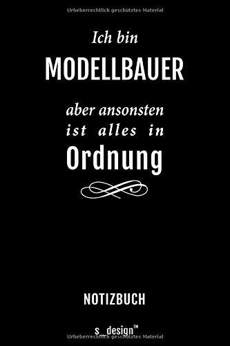 Notizbuch für Modellbauer: Originelle Geschenk-Idee [120 Seiten gepunktet Punkte-Raster blanko Papier]