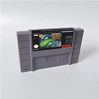 Game card - Game Cartridge 16 Bit SNES , Game TEENAGE MUTANT NINJA Turtles Tournament Fighters - Action Game Card US Version