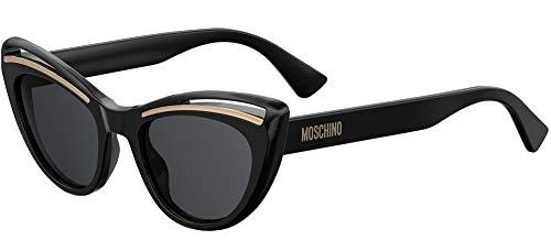 Occhiali da sole Moschino MOS036/S BLACK/DARK GREY donna