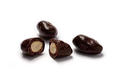 Jalall D'or Dragierte Schoko-Salz-Mandeln 250 g - geröstete Mandeln in feinherber Schokolade