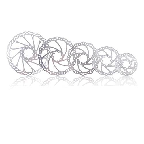 Freno de bicicleta de bicicleta MTB 203 mm / 180 mm / 160 mm / 140 mm / 120 mm Línea de disco de rotor de acero inoxidable de acero inoxidable Tirar freno de disco para la mayoría de las bicicletas