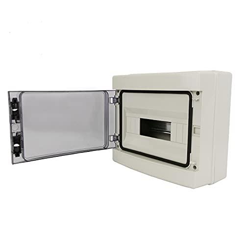 BeMatik - Caja de distribución eléctrica de 12...