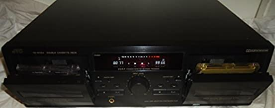 JVC dual cassette deck