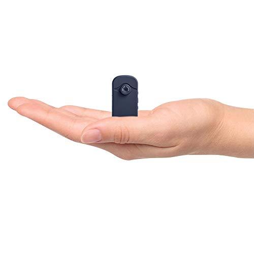 SYLOZ-URG Oculto Mini cámara espía, 1080P HD Pequeño portátil Wireless Home cámaras de Seguridad de vigilancia, Compacto for Interiores/Exteriores Grabador de vídeo de 64 GB SYLOZ-URG