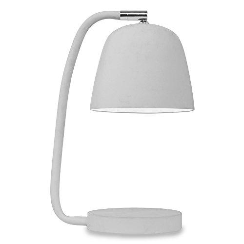 It's about RoMi NEWPORT Lampe à poser, Fer, E14, 40 W, Gris