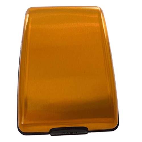 Kinshops Porta Carte di Credito in Alluminio con Portafogli Multifunzione in Lega di Alluminio RFID