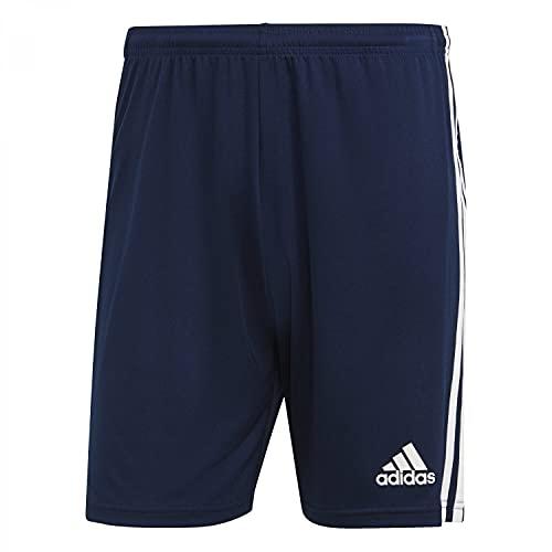 adidas Herren Squadra 21 Fu ball Shorts , Team: Marineblau Weiß., M EU
